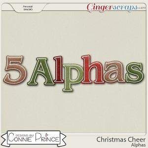 Christmas Cheer - Alpha Pack AddOn by Connie Prince