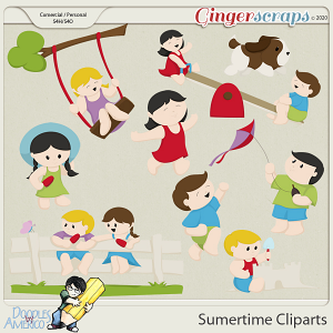 Doodles By Americo: Summertime Cliparts