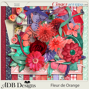 Fleur de Orange Page Kit