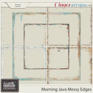 Morning Java Messy Edges by Aimee Harrison