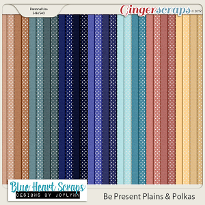 Be Present Plain and Polkas Paper Pack