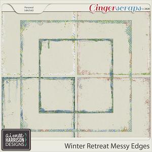 Winter Retreat Messy Edges by Aimee Harrison