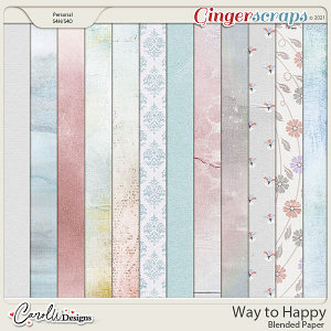 Way to Happy-Blended paper
