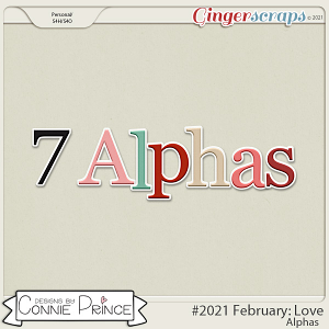 2021 February: Love Bonus Alphas by North Meets South Studios