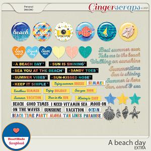A beach day - extra