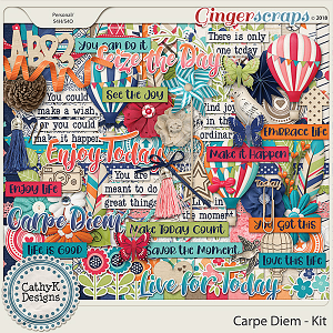 Carpe Diem - Kit by CathyK Designs