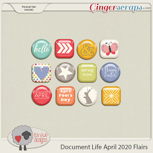 Document Life April 2020 Flairs by Luv Ewe Designs