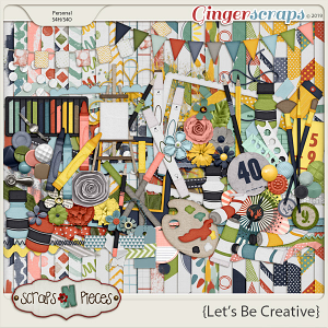 Let's Be Creative Kit by Scraps N Pieces