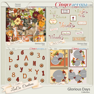 Glorious Days Collection by LouCeeCreations