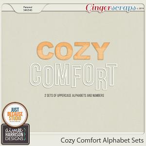 Cozy Comfort Alpha Sets by Aimee Harrison and JB Studio