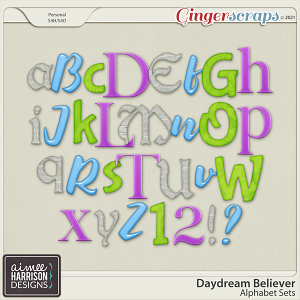 Daydream Believer Alpha Sets by Aimee Harrison