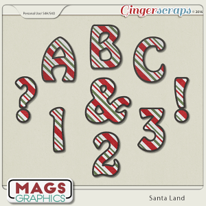 Santa Land ALPHA by MagsGraphics