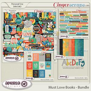 Must Love Books - Bundle by Aprilisa Designs