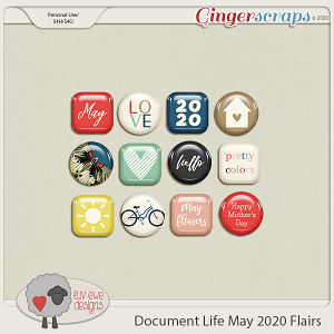 Document Life May 2020 Flairs by Luv Ewe Designs