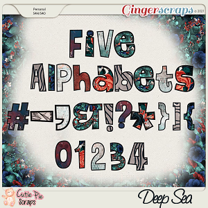 Deep Sea Alphabets