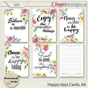 Happy days Cards