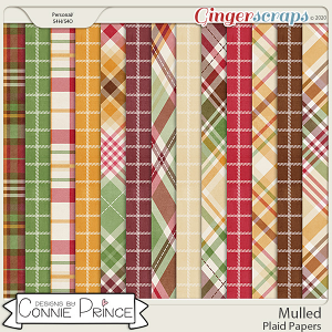 Mulled - Plaid Papers by Connie Prince