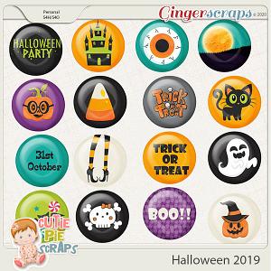 Halloween 2019-Flairs Pack