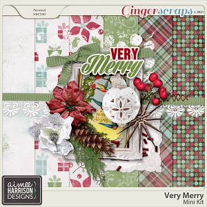 Very Merry Mini Kit by Aimee Harrison