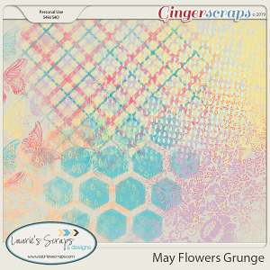 May Flowers Grunge