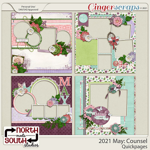 2021 May: Counsel Quickpages by North Meets South Studios