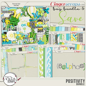 Positivity - Bundle - by Neia Scraps