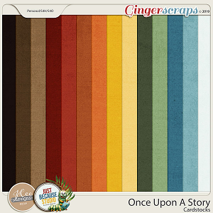Once Upon A Story Cardstocks by JoCee Designs and Just Because Studio