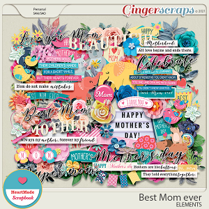 Best Mom ever - elements