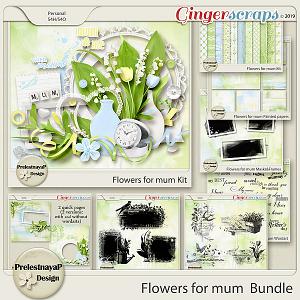 Flowers for mum Bundle