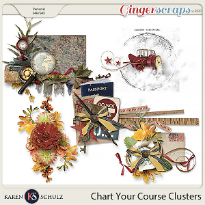 Chart Your Course Clusters by Karen Schulz