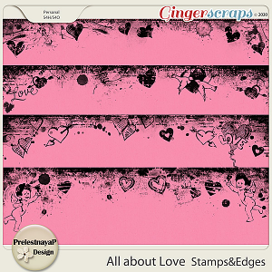 All about Love Stamps & Edges