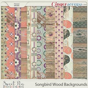 Songbird Wood Backgrounds