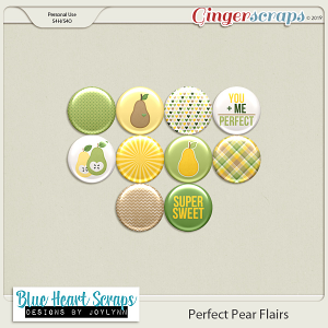Perfect Pear Flairs