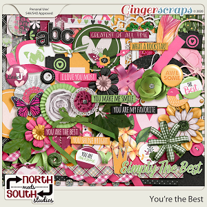 You're The Best Collab Kit by North Meets South Studios