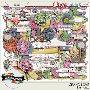 Grand Love Elements by Lisa Rosa Designs