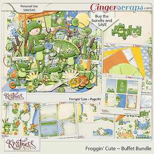 Froggin' Cute Buffet Bundle