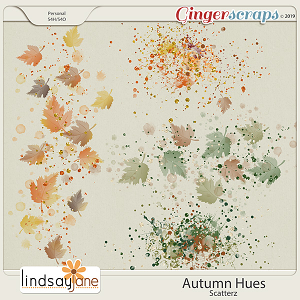 Autumn Hues Scatterz by Lindsay Jane