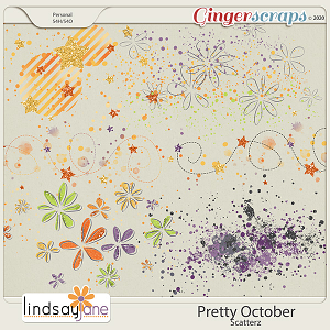 Pretty October Scatterz by Lindsay Jane