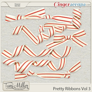 Pretty Ribbons Vol 3 by Tami Miller Designs