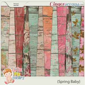 Spring Baby Wood Papers