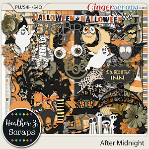 After Midnight KIT by Heather Z Scraps