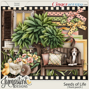Seeds of Life {Front Porch} by Jumpstart Designs