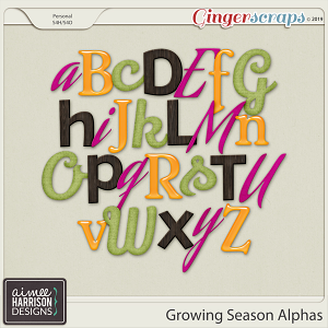 Growing Season Alpha Sets by Aimee Harrison
