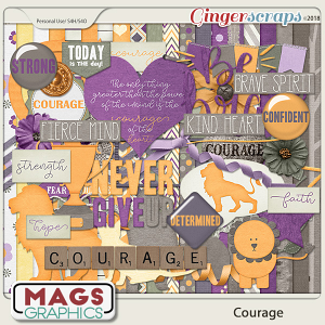 Courage KIT by MagsGraphics