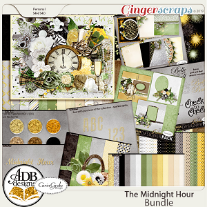 The Midnight Hour Mega Collection plus Bonus by ADB Designs