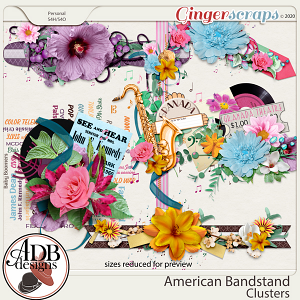 American Bandstand Clusters by ADB Designs