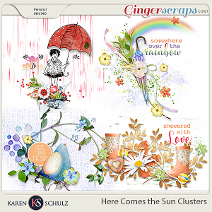 Here Comes the Sun Clusters by Karen Schulz