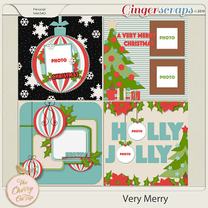 The Cherry On Top Very Merry Templates