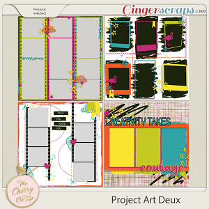The Cherry On Top:  Project Art Deux
