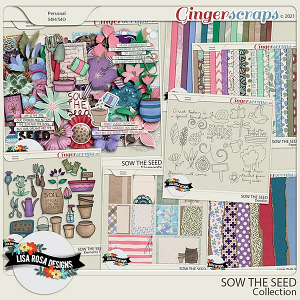Sow the Seed - Collection by Lisa Rosa Designs